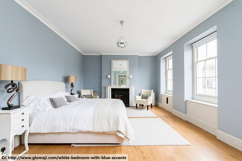 a blue-white light good for sleep