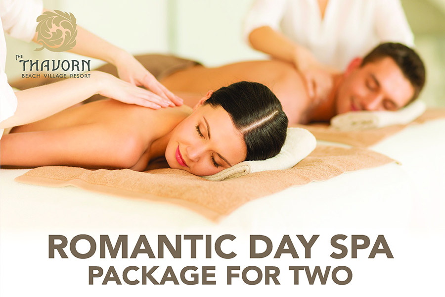 Romantic Day Spa Package For Two